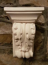 1 Architectural ornate plaster corbel bracket shelf wall decor plaque scroll