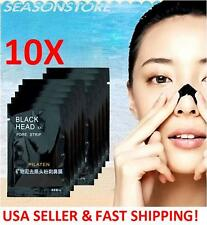 10 Pilaten Blackhead Remover Pore Strips (Acne Treatment, Face Nose Facial Mask)