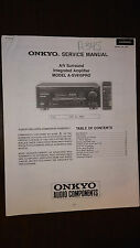 Onkyo a-sv810pro service manual COPY integrated stereo integrated amplifier amp