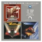 ZZ TOP - THE TRIPLE ALBUM COLLECTION (DEGÜELLO/ELIMINATOR/AFTERBURNER) 3 CD NEU