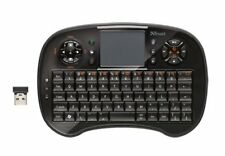 Trust Tocamy Wireless Entertainment Keyboard 18007 Teclado inalámbrico, USA