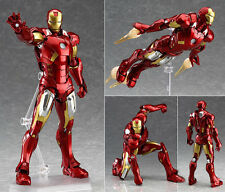 Marvel Legends Avengers Figma Iron Man Mark 7 Action Figure Age of Ultron 18cm