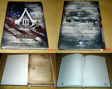 Assassins Creed III Gamescom 2012 Notebook Promo Press Kit New Extremely Rare