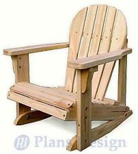 Kid Adirondack Rocking Chair Woodworking Project Plans,Trace and Cut #ODF22