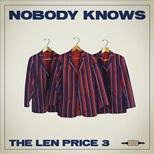Nobody Knows * by The Len Price 3 (CD, Mar-2014, MRI)