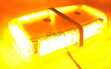 24 LED WORK LIGHT BAR BEACON FLASHING EMERGENCY WARNING STROBE LIGHT LAMP AMBER