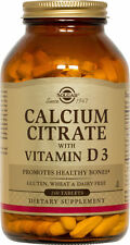 Solgar Calcium Citrate with Vitamin D3 Tablets 240ct