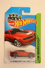 HOTWHEELS 202/250 2013 HOT WHEELS CHEVY CAMARO SPECIAL EDITION DIE-CAST