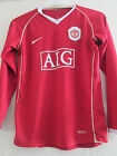 Manchester United 2006-2007 Home Football Shirt childrens size 13-15 years 39565