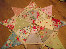 FLORAL SHABBY CHIC GARDEN BEDROOM FABRIC BUNTING CATH KIDSTON LAURA ASHLEY