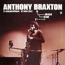 ANTHONY BRAXTON 3 Compositions of New Jazz DELMARK RECORDS Sealed Vinyl LP