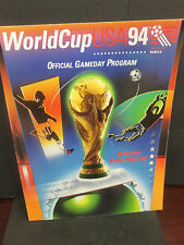 FIFA-WORLD CUP 1994 OFFICIAL GAMEDAY PROGRAM-INCLUDES ROSTERS