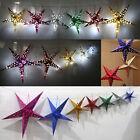 Xmas Decor Pentagram Lampshade Stars Lantern Hanging Wedding  Christmas Decor AS