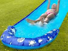 16FT 5 MT SLIP & SLIDE BLAST WATER SLIDE AQUA SPRINKER KIDS CHILDREN OUTDOOR