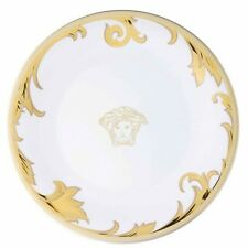 1 Rosenthal Meets Versace Arabesque Champagne Canape Medusa Plates, 1 Plate