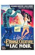 CREATURE FROM THE BLACK LAGOON- FRENCH  ARTWORK- UNIQUE AT EBAY- ONLY  $4.99