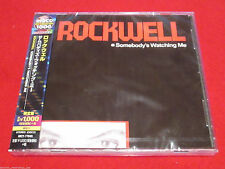 ROCKWELL - SOMEBODY'S WATCHING ME - JAPAN CD - UICY-77045 - MICHAEL JACKSON