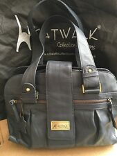Catwalk collection bag Navy Zara Unused with dustbag Leather