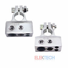 Stinger Select Car/Truck Nickel Battery Terminal Clamp Set Positive & Negative