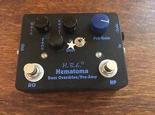 Homebrew Electronics HB hematoma Bass Overdrive/Preamp