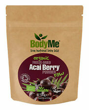 Bodyme Organic Acai Berry En Polvo 50 G liofilizado (Soil Association Certified)