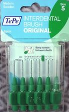 TePe interdental brush 0 63/2000in green No. 5 6St 2 Packs Offer