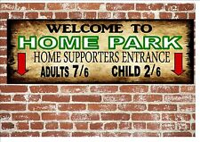 Home Park Plymouth Vintage Style Metal Sign Football  Vintage Sign