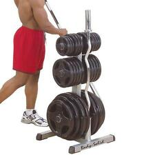 NEW BODY SOLID WEIGHT TREE FOR OLYMPIC WEIGHT PLATES FOR GYM STRENGTH TRAINING