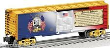 Lionel Andrew Johnson Boxcar # 6-25931 MADE IN USA PRESIDENTIAL BOXCAR