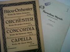 Salon de pièces orchestra J. Fucik Florentiner Marsch op214