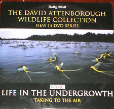David Attenborough Wildlife Collection - Life In Undergrowth - Taking To Air DVD