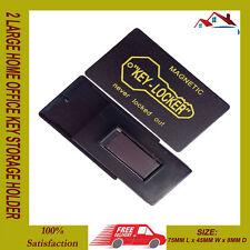 Nuevo 2 grande magnético Llavero Hogar Oficina Caja De Seguridad Auto Barco Repuesto Teclas ocultar