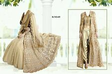 BOLLYWOOD DESIGNER ZOYA 8 COLOURS FULLY STITCH DRESS LENGHA ACTUAL PIC ETHNIC