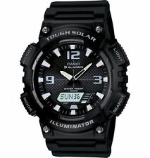 Casio New AQ-S810W-1A Black Digital Analog Mens Watch Tough Solar Alarm AQ-S810