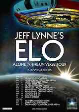 "JEFF LYNNE'S ELECTRIC LIGHT ORCHESTRA ""UNIVERSE TOUR"" 2016 EUROPE CONCERT POSTER"