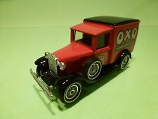 MATCHBOX Y21  FORD MODEL X - OXO MEAT & DRINK - RED 1:43 - GOOD CONDITION