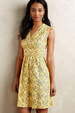 NWT ANTHROPOLOGIE Plenty Tracy Reese Lattice Lace Dress Size 0 $158