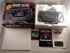 Sega Game Gear Handheld System (COMPLETE IN BOX CIB! NICE! READ!) #S228