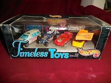 Hot Wheels Timeless Toys Series III 2000 Sticker on Front of Package