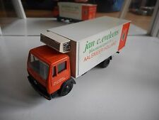 "NZG Mercedes Truck ""Jan C. Eveleens"" in Orange/White on 1:50"