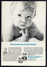 1967 GERBER BABY FOOD AD~FREMONT,MICHIGAN~MRS DAN GERBER~JUNIOR VEGETABLES