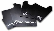 M-Sport World Rally Team Style Mud Flaps For Focus RS Mk2