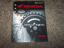 2009 2010 Honda CRF450R Motorcycle Dirt Bike Service Repair Shop Manual