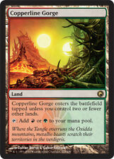 Copperline Gorge - Foil x1 Magic the Gathering 1x Scars of Mirrodin mtg card