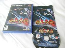 Onimusha Amanecer De Los Sueños-Sony Playstation 2-Completo con Manual