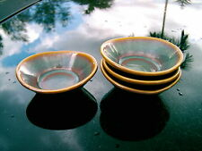 HLC HOMER LAUGHLIN  DIPPING  DISHES OVAL SHAPE SET OF FOUR CLEARANCE