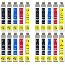 20 Ink Cartridges for Epson Stylus DX4400 DX7000F DX9400F S20 SX205 SX515W