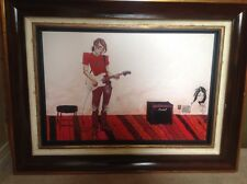 """Todd White """"Just Rock"""" Hand-Embellished Giclee  Limited Edition 15/35 (framed)"""