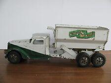 """Vintage 1949 Buddy L 22"""" International Hydraulic Dumper Truck * Works! VG"""
