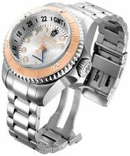Invicta Reserve 16964 52mm Hydromax Swiss Made Date GMT 1000 ATM Mens Watch